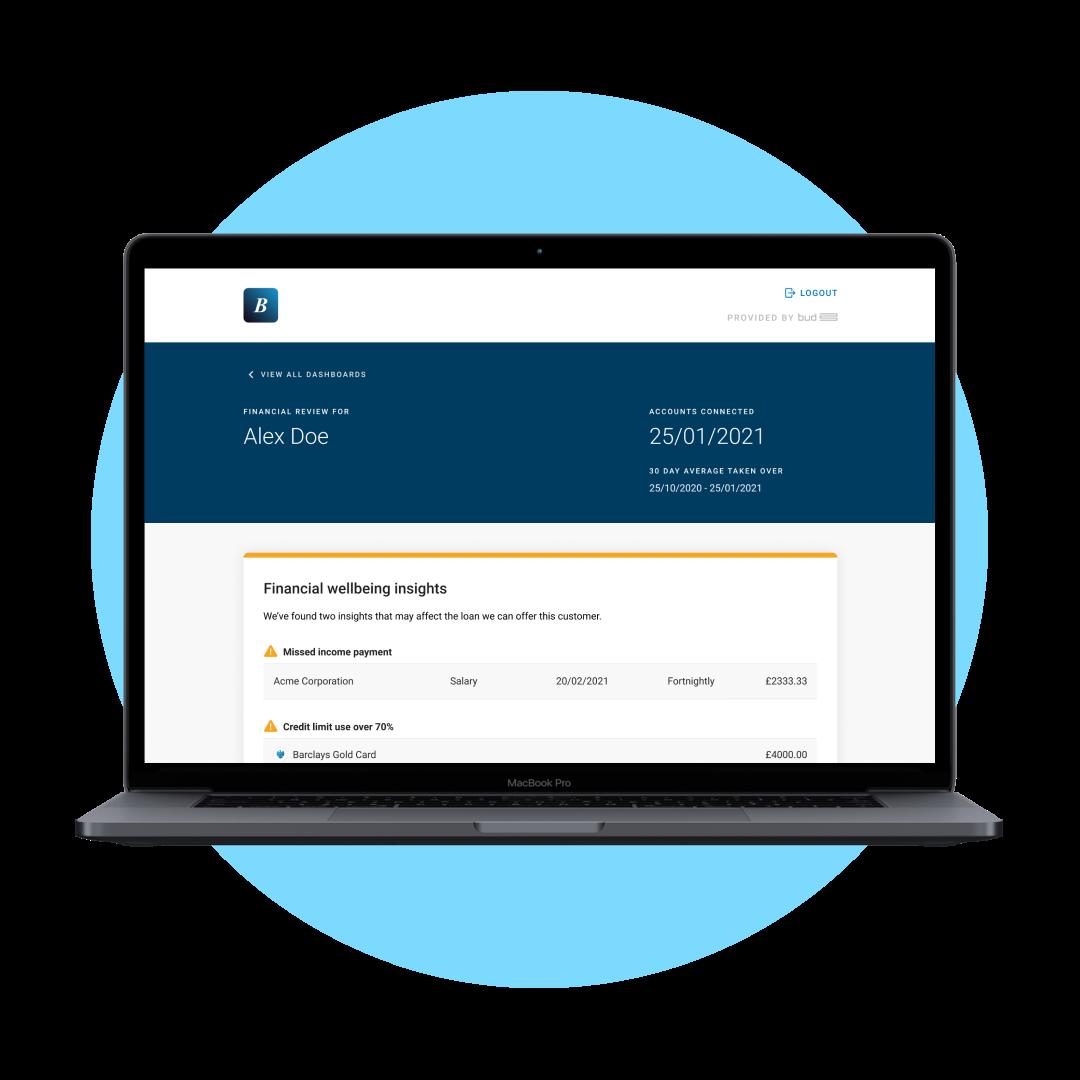 src=Affordability-Open Banking- Laptop-BlueBG