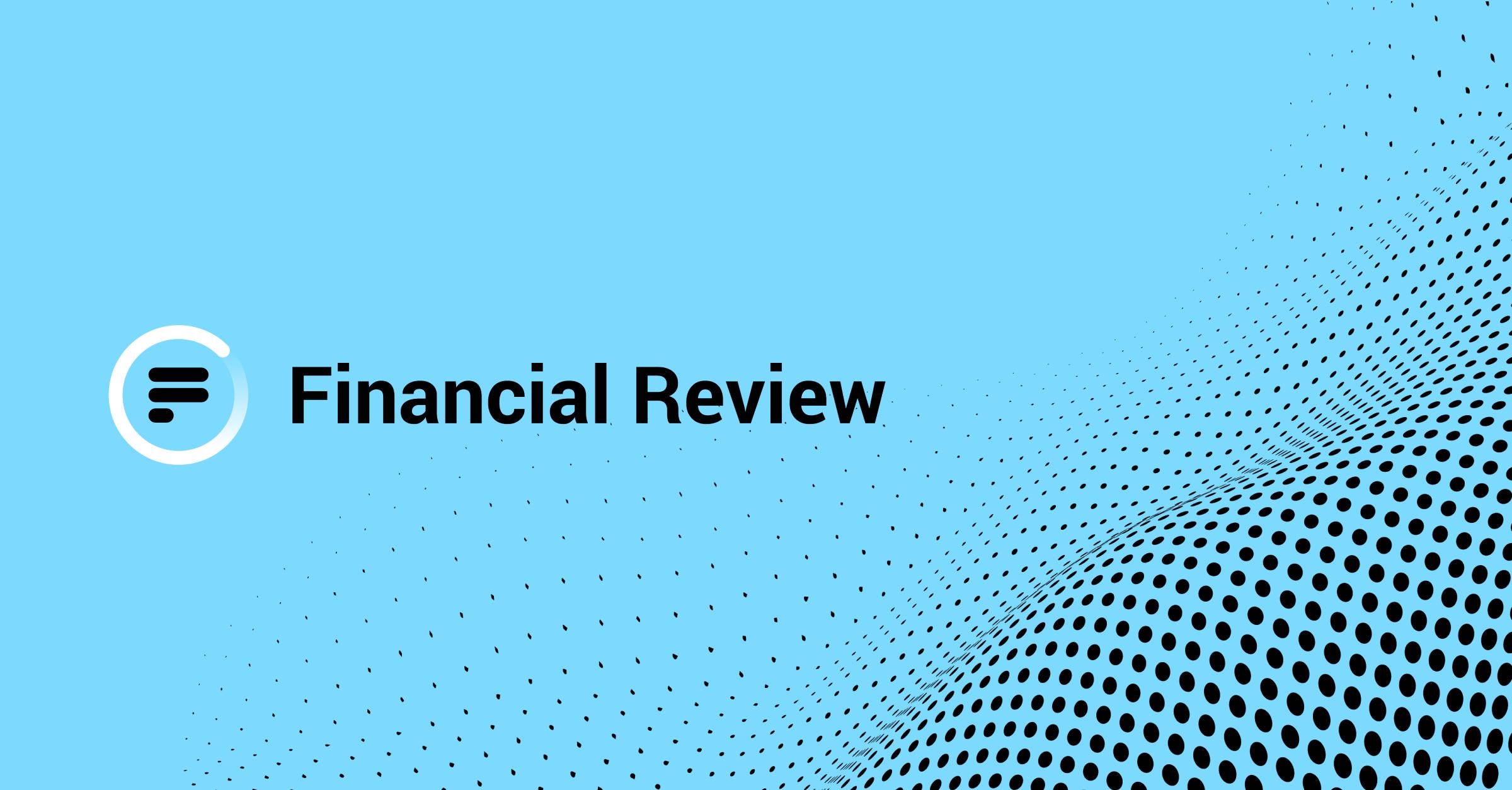 Financial Review Factsheet